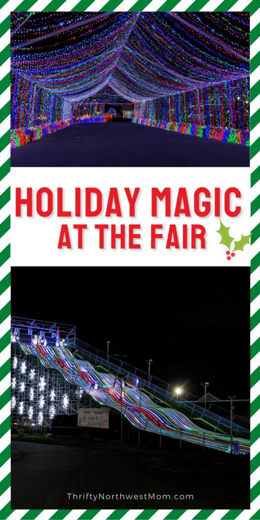 Holiday Magic Drive Thru Christmas Lights at the Washington State Fair