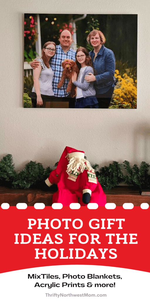 Custom  Photo Gifts for Christmas + Extra 15% off Canvas Prints!