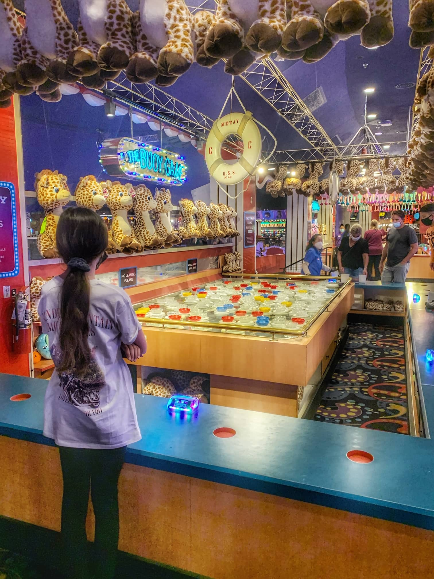 Circus Circus arcade and carnival games las vegas