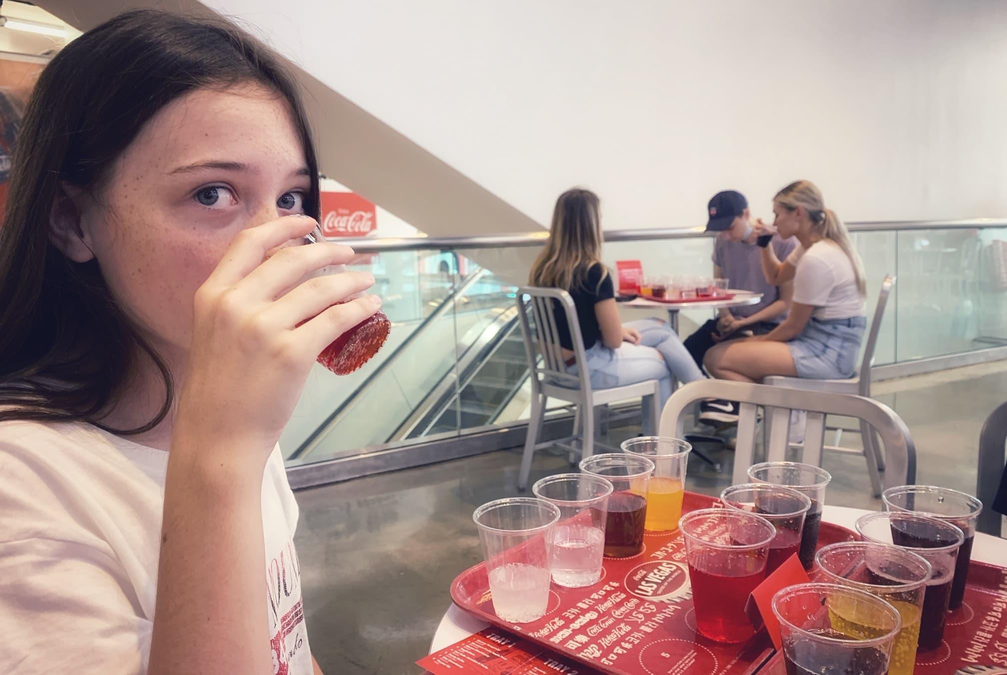 exploring the coca cola factory in las vegas