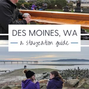 Des Moines WA Staycation Guide