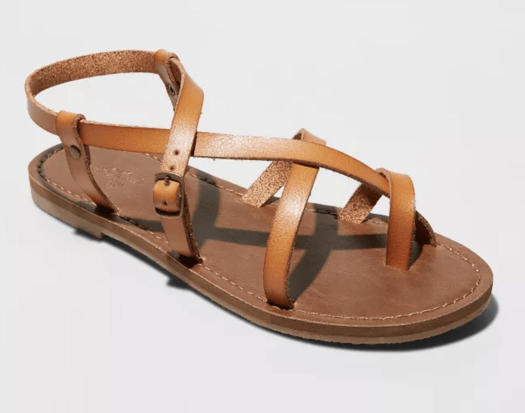 Target sandals on sale