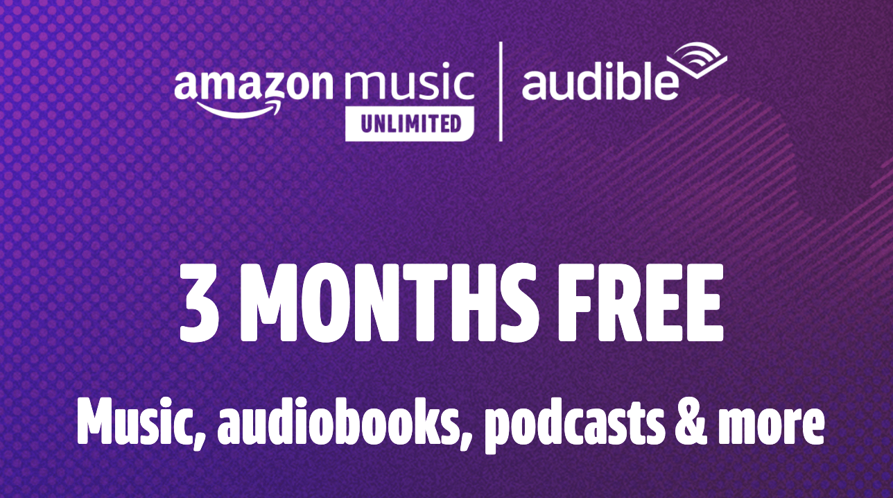 Audible & Amazon promo