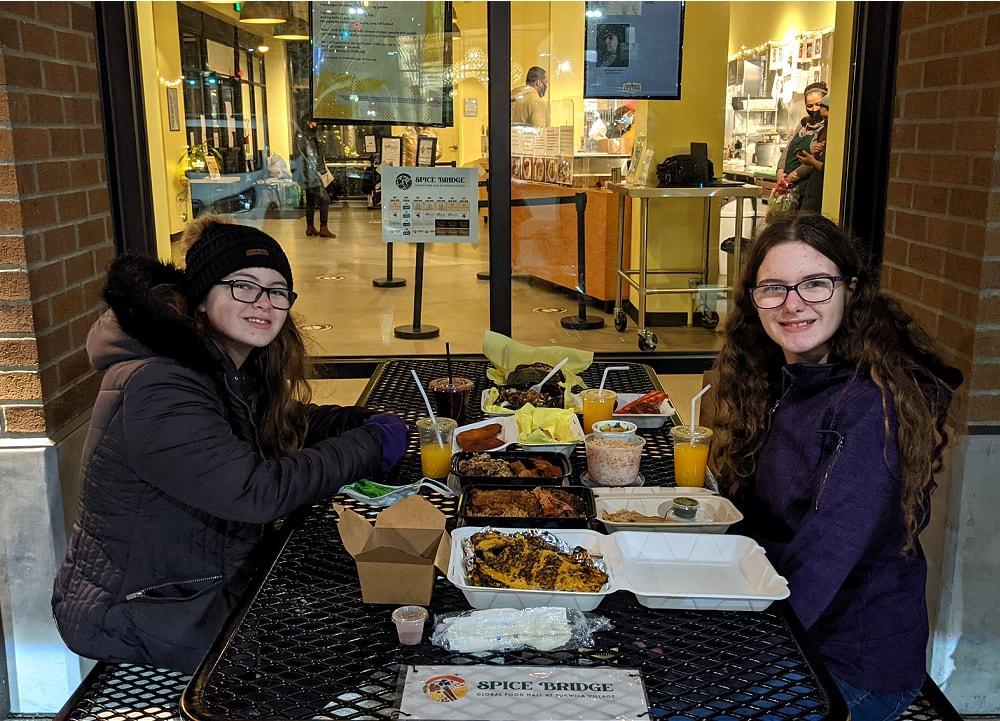 Spice Bridge Global Food Hall Food