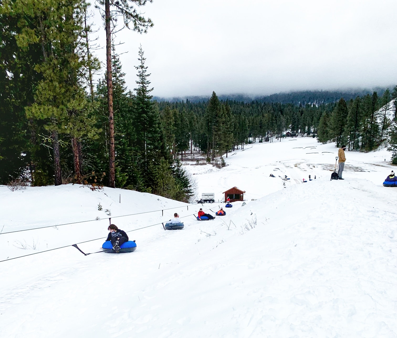 Snow Tubing at Suncadia