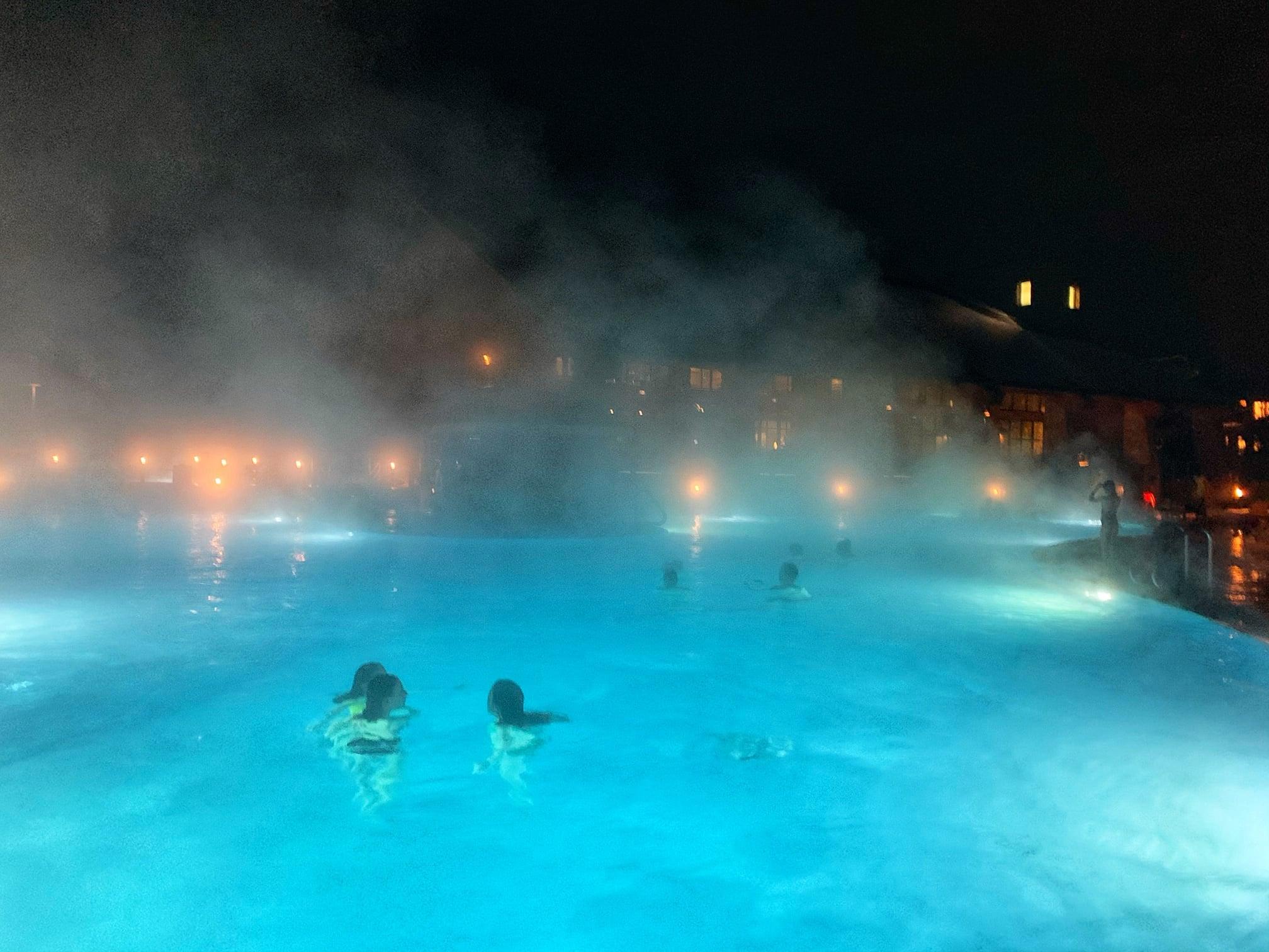 Swimming at Suncadia