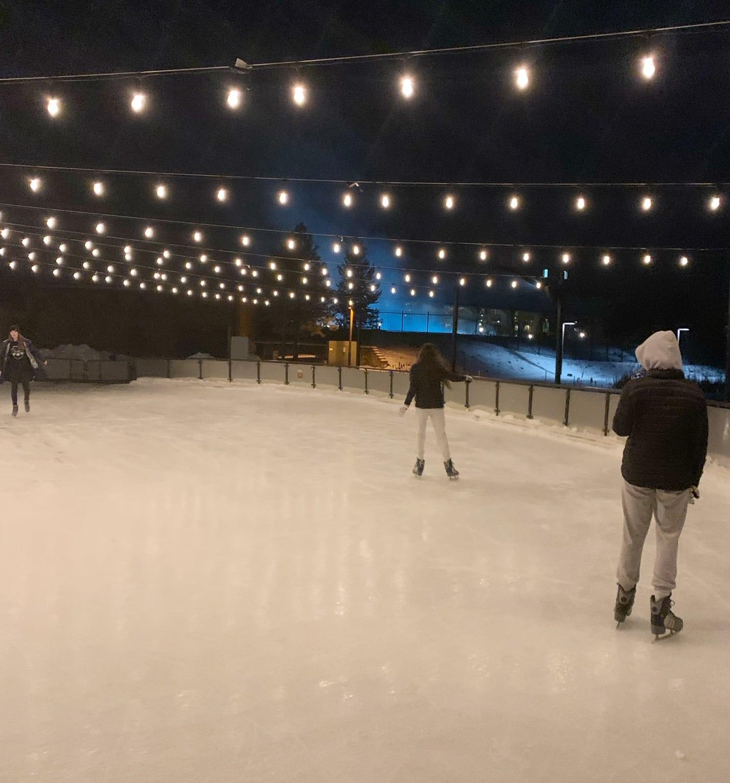 Suncadia Ice Skating