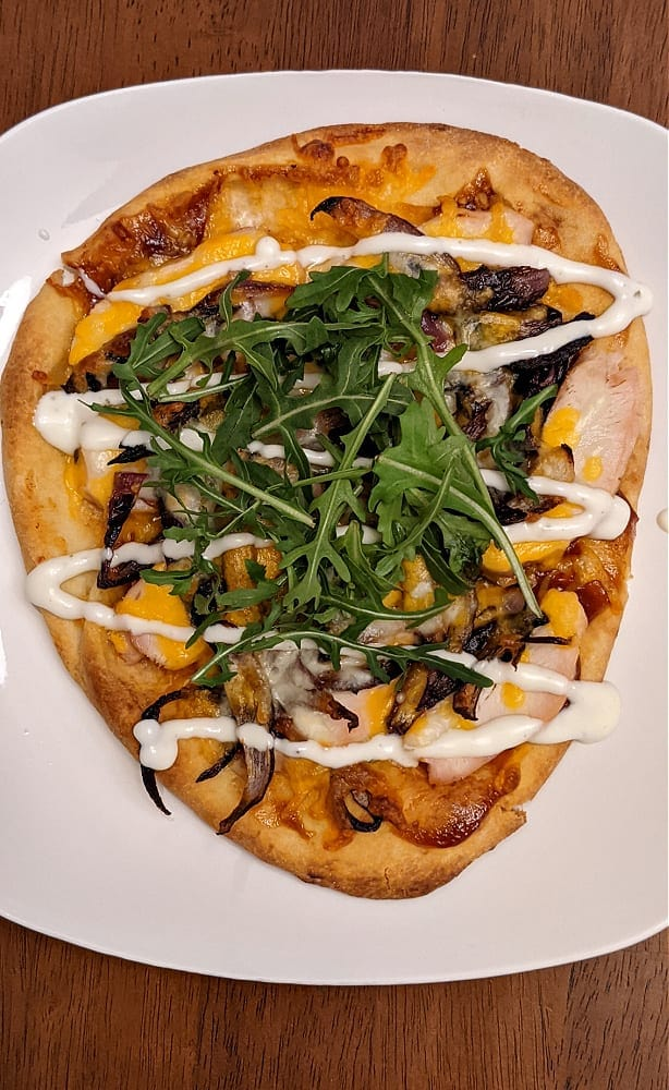 BBQ Chicken Pizza from Home Chef