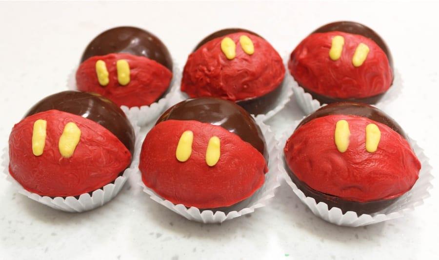 Balls for Mickey Hot cocoa bombs