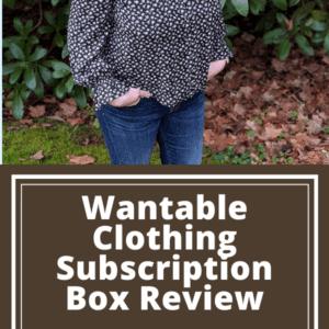 Wantable Clothing Subscription Box review