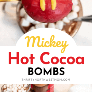Mickey Hot Chocolate Bomb Recipe