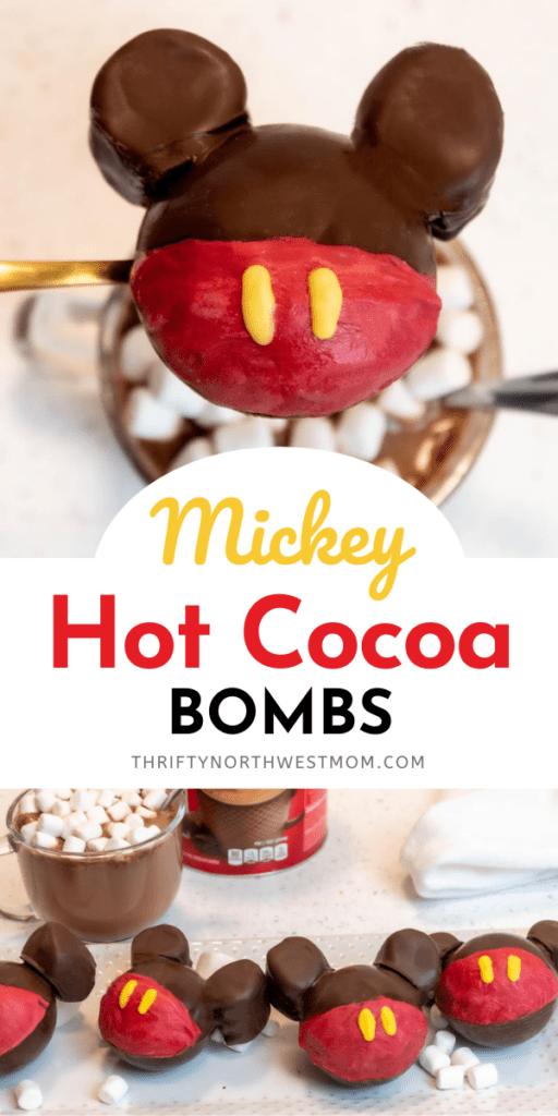 Mickey Hot Chocolate Bomb Recipe