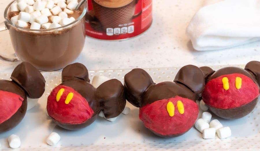 Mickey Hot Cocoa Bombs with Mug