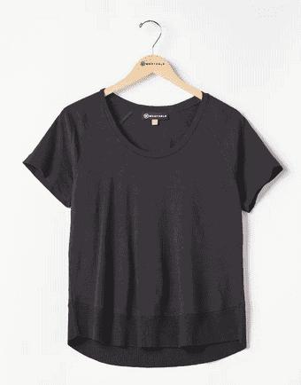 Wantable Black Short Sleeve Shirt
