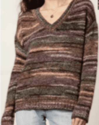 Wantable Multi Color Sweater