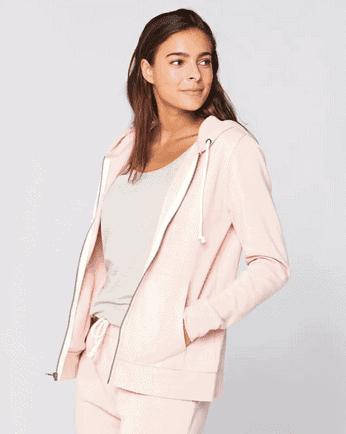 Pink Zip Up sweatshirt from Wantable