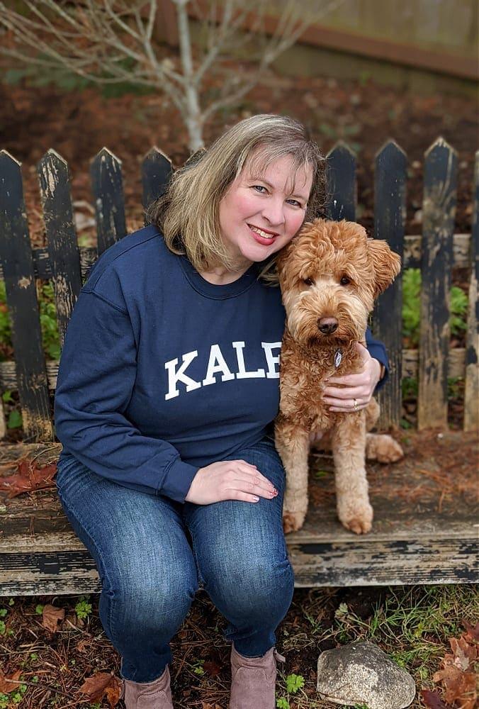 Womens Kale Sweatshirt