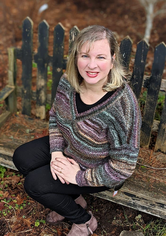 Womens Warm Sweater in Multi Colors