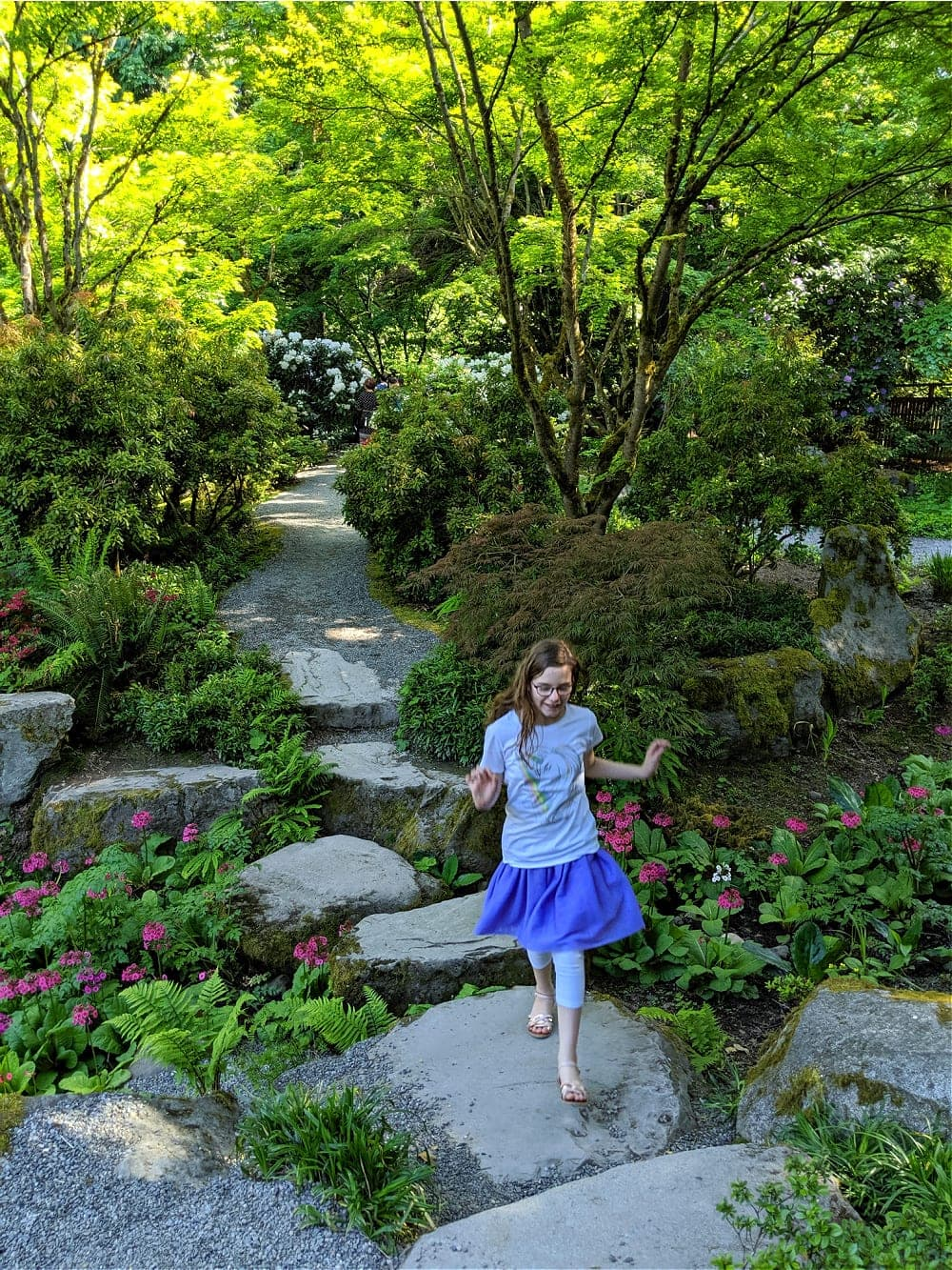 Bellevue Botanical Gardens Stepping Stones