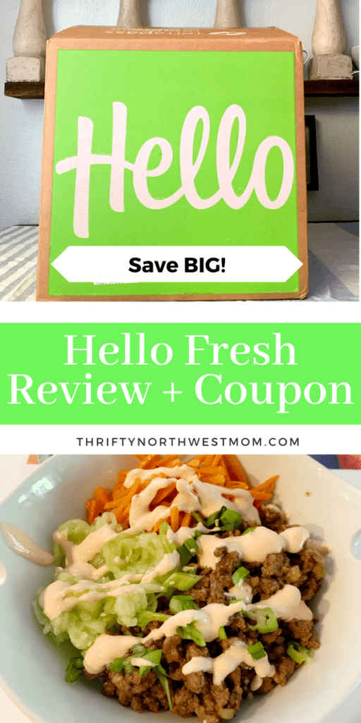 Hello Fresh Coupon & Review + 14 FREE Meals!
