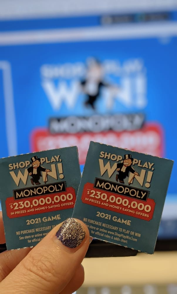 Enter to Win Shop, Play, Win! Monopoly Game at Albertsons Stores!