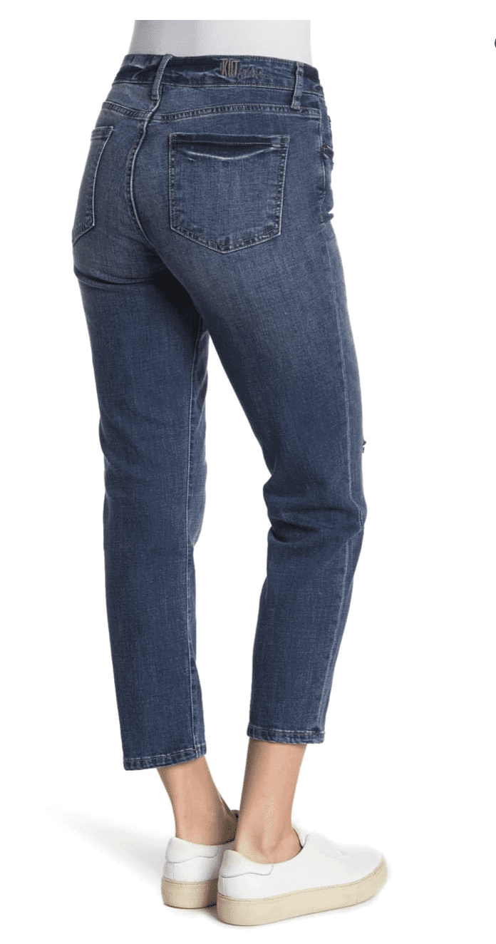 Kut from Kloth Ankle Straight Jeans