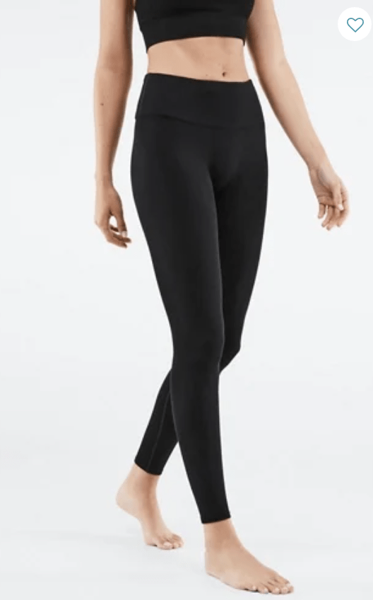 High Waisted Rib Leggings from Fabletics
