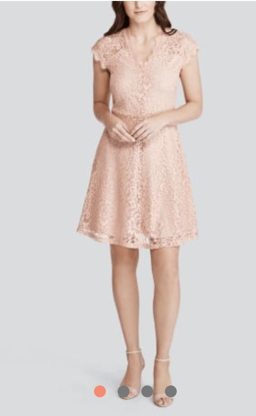 Wantable Cap Sleeve Dress