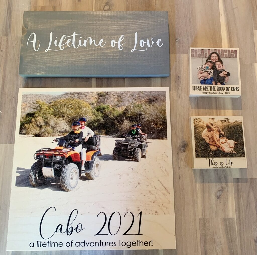 Personalized Photo Gifts from Dream Big Printables (Really Cool)!