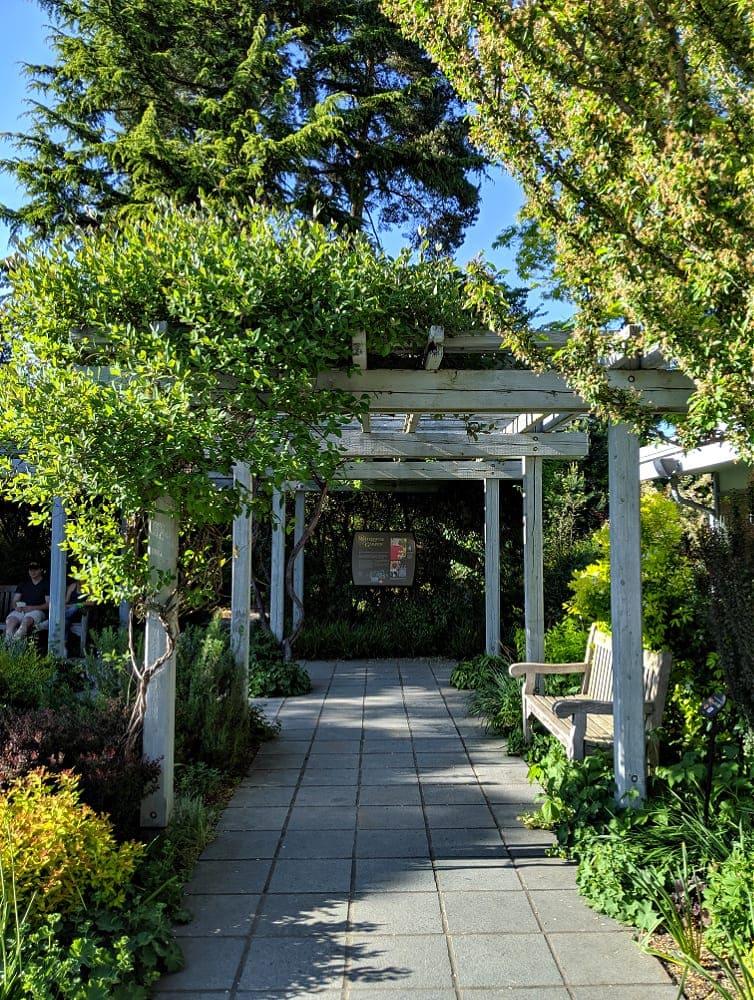 Bellevue Botanical Gardens Walkway