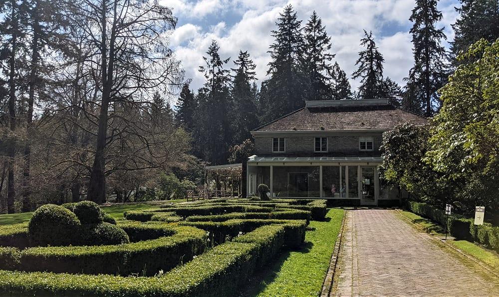 Lakewold Garden Formal Garden & House
