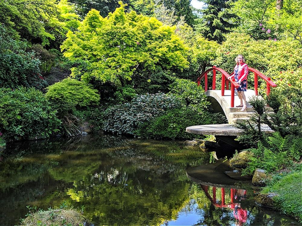 Seattle Japanese Garden Bridge