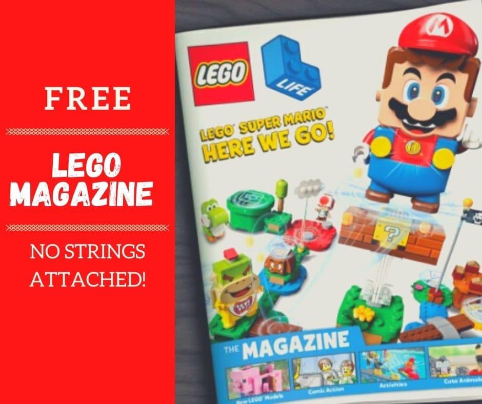 free lego magazine subscription