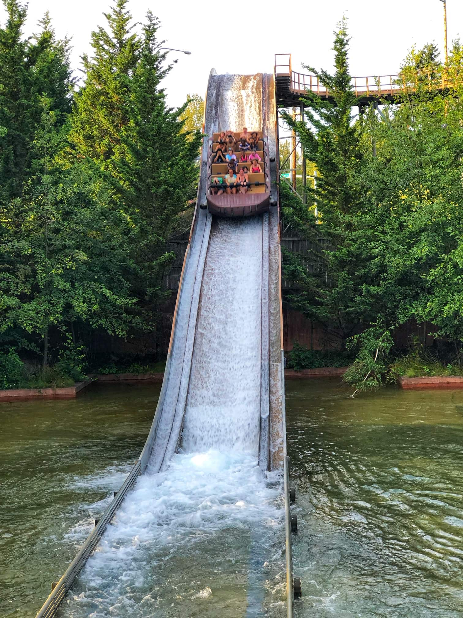 wild waves theme park rides