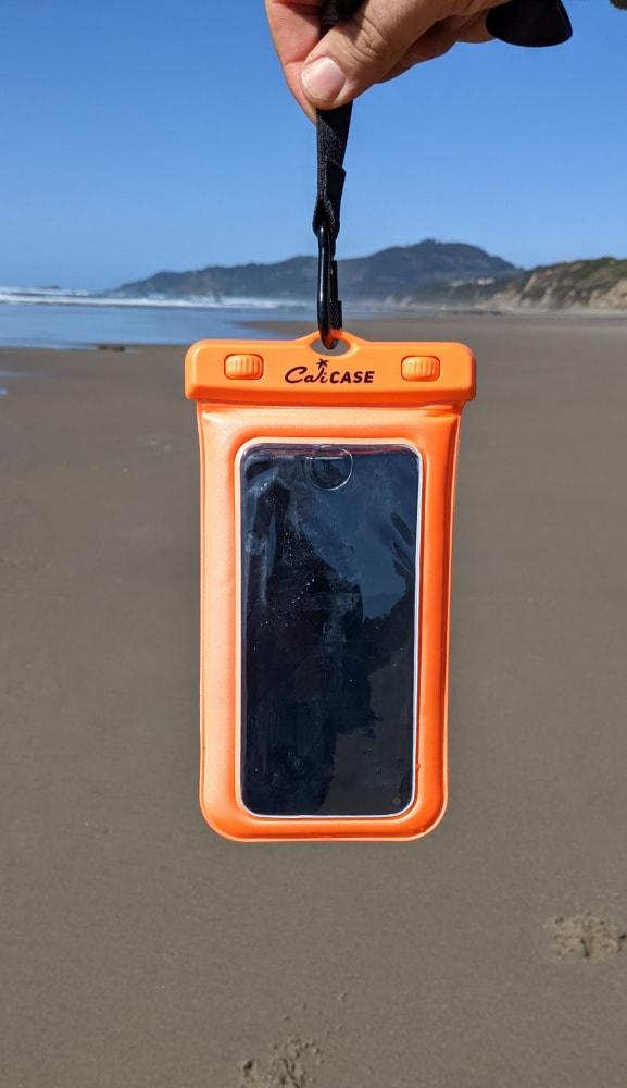 CaliCase on the Beach