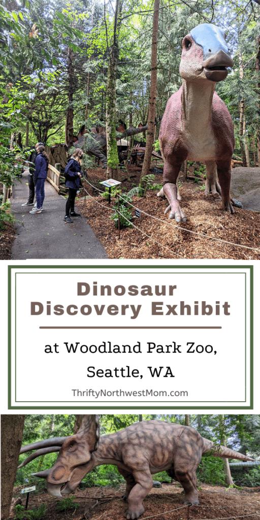 Dinosaur Discovery Exhibit at Woodland Park Zoo