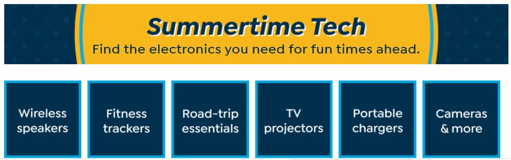 HSN Tech Sale for summer