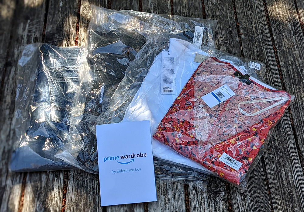 Amazon Prime Wardrobe Styling Service