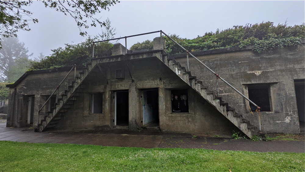 Bunkers at Cape Disappointment State Park WA