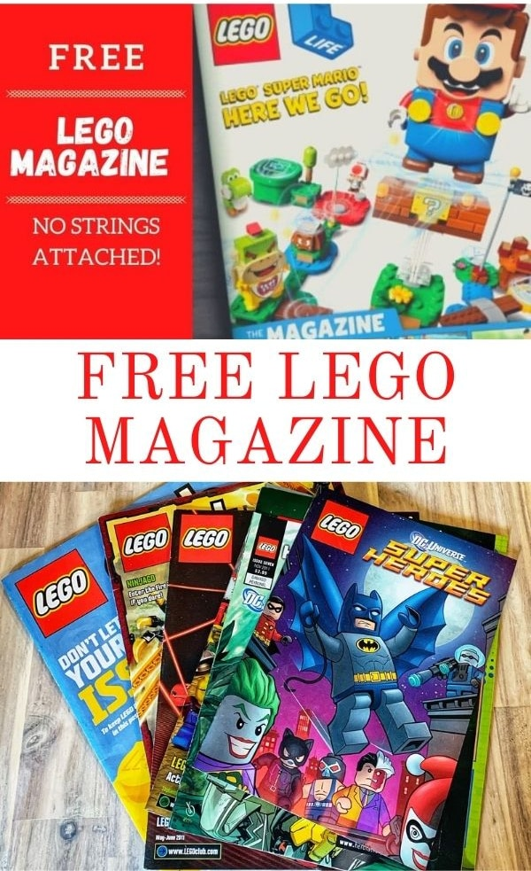 Free Lego Magazine Subscription – Lego Life (No Strings Attached)