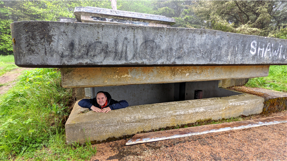 Military Bunkers at Cape Disappointment WA