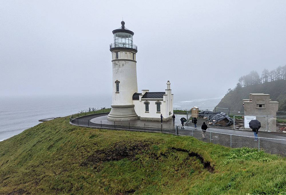 North Head Lighthouse at Cape Disappointment Park WA