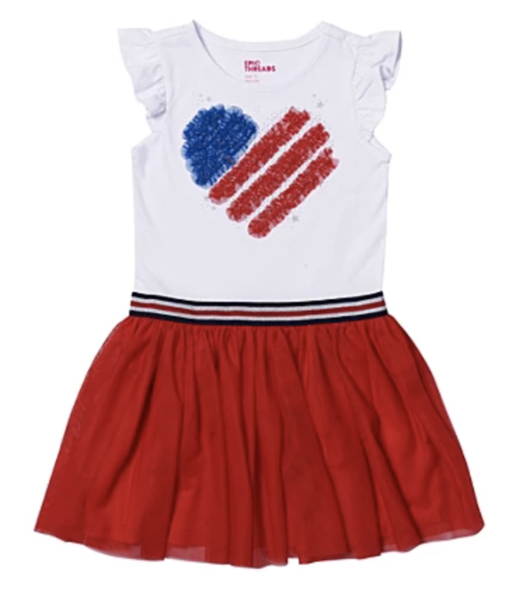 4th of July Dress for Girls