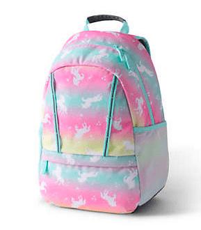 Lands End unicorn backpack