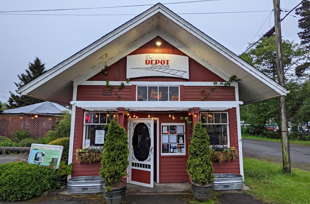 The Depot Restaurant in Seaview WA