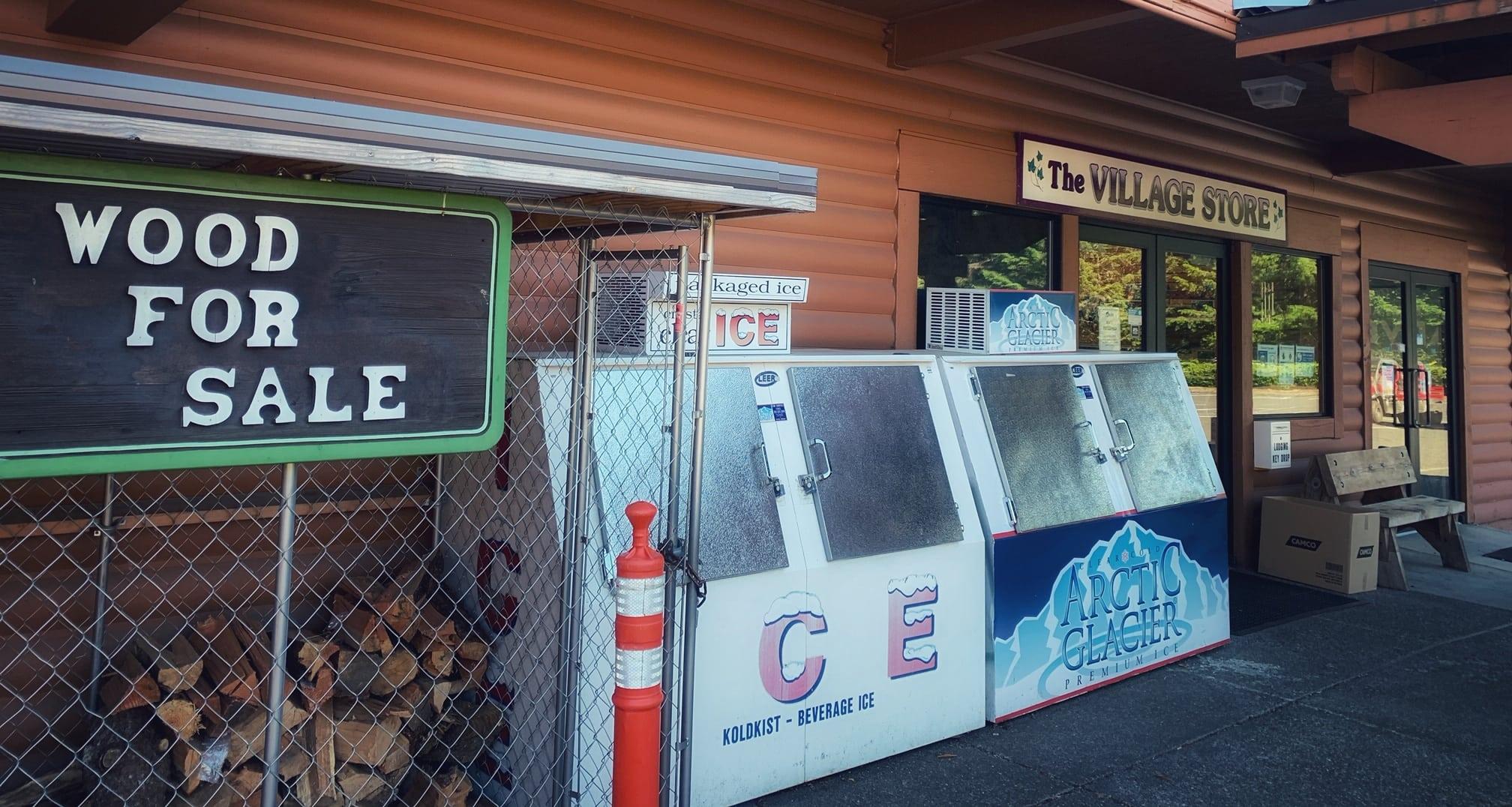 camp store at Mt Hood Village