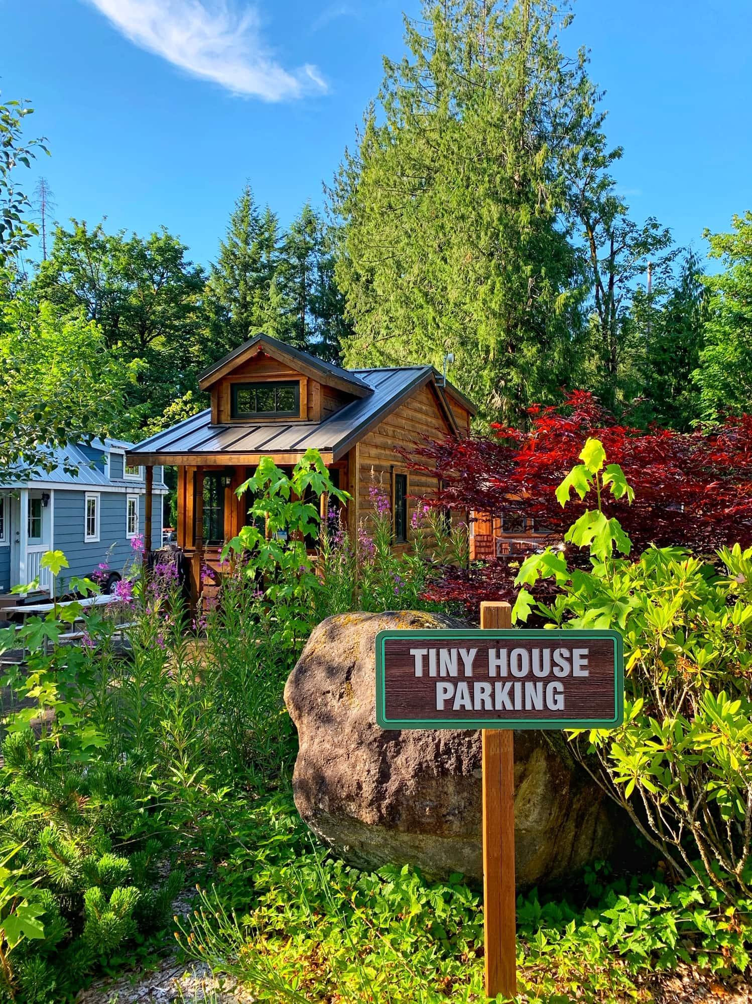 Tiny Houses in Mt Hood
