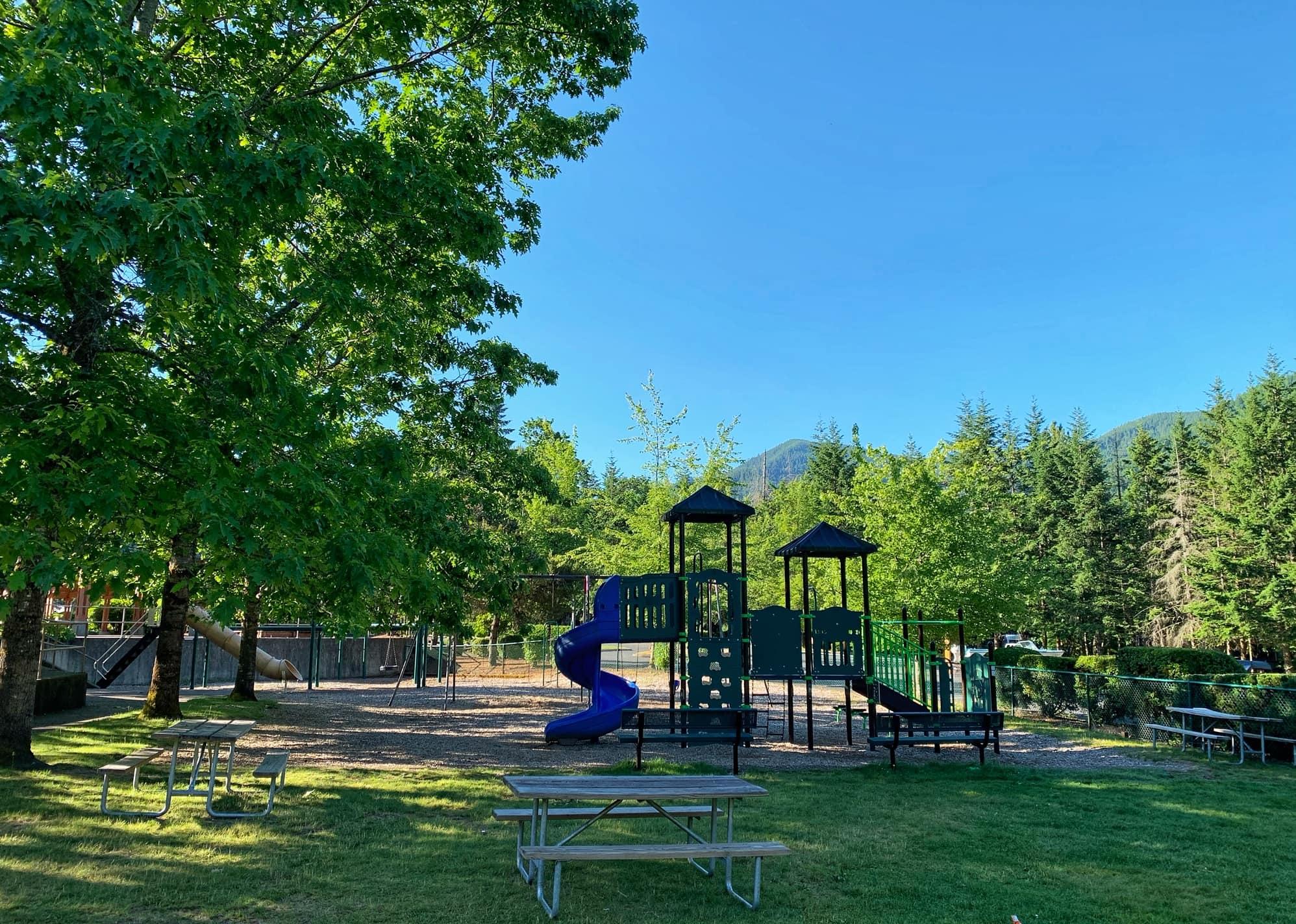 playground at Mt hood village