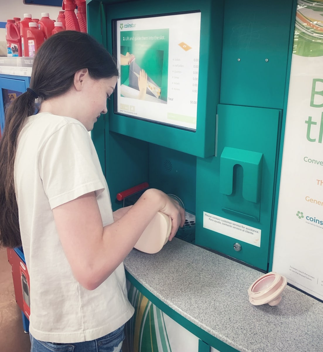 sharing how does Coinstar work
