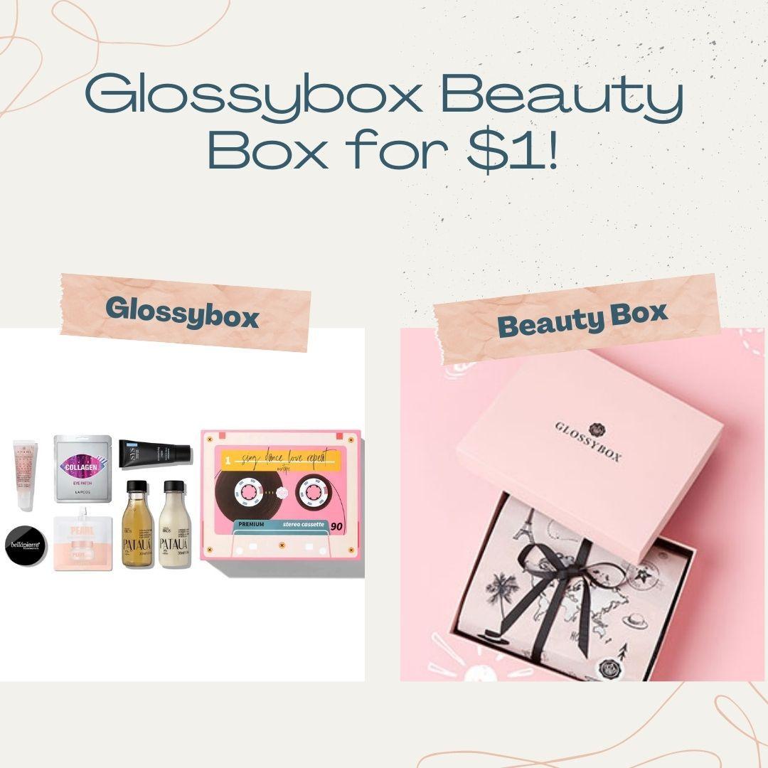 Glossybox beauty box